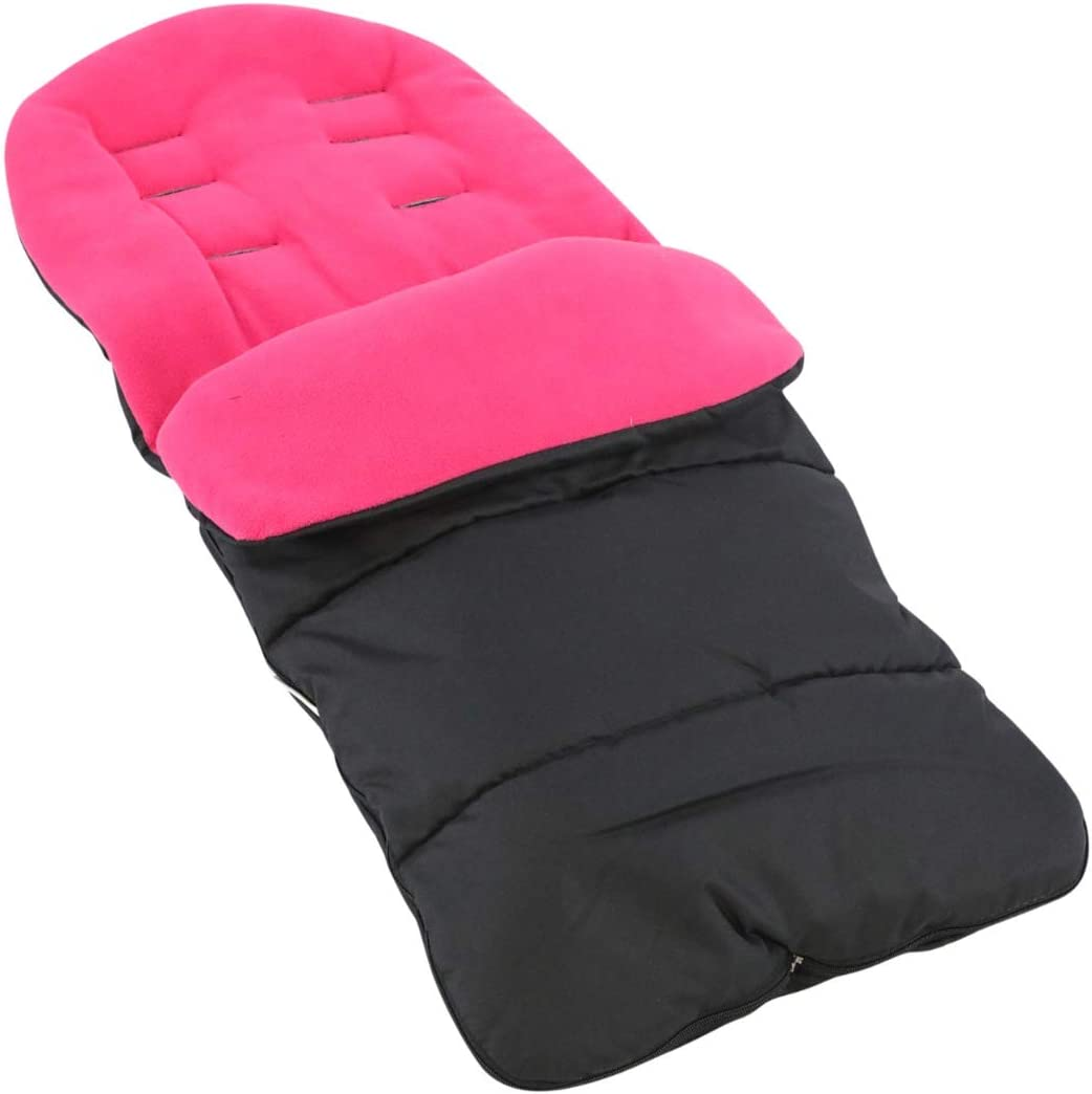 Premium Footmuff//Cosy Toes Compatible with Joie Mirus Pink Rose