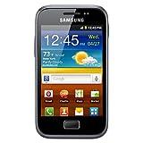 Samsung S7500 Galaxy Ace Plus Android Smartphone (GSM Factory Unlocked) - 5MP Rare Camera, 3G 900/2100 MHz, International Version - Black