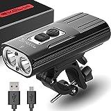Rechargeable Bike Light Evolva Future Technology 1800 Lumens USB Cree LED Headlight Bicycle Light