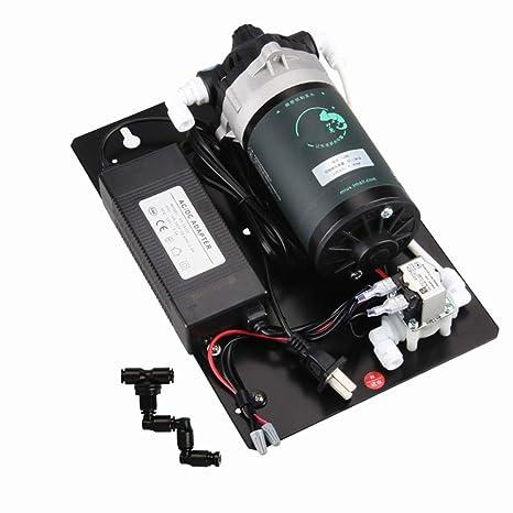 MUJING Sistema de Niebla Reptil humidificador Pet Suministros de presión de Reptil Auto cebador rociador Kit