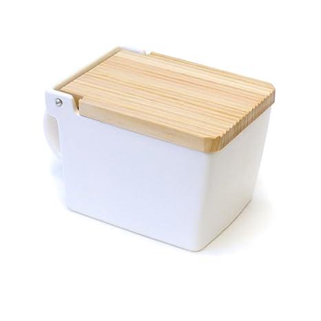 Superieur Beehouse Salt Box, White