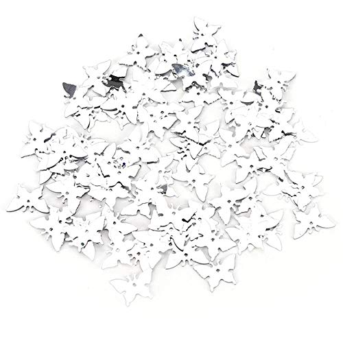 Glitter Butterfly Plastic - Party Diy Decorations - 350pcs Gold Silver Butterfly Wedding Decor Decoration Birthday Party Table Scatters Confetti - Party Decorations Party Decorations Confetti Decor Foil Cannon Organza Birth