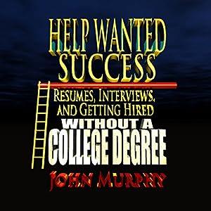 Help Wanted Success Series Audiobook