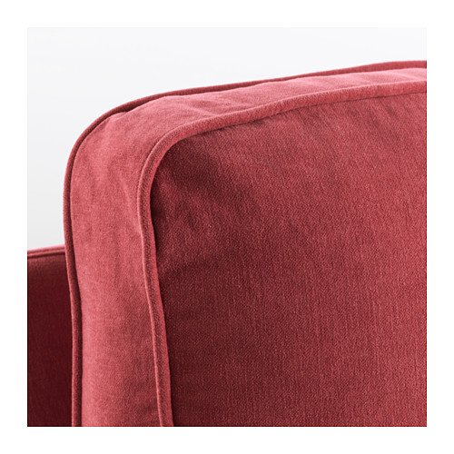 IKEA STOCKSUND - Cover for Loveseat (60 5/8 '' width) Ljungen Light Red (cover only)