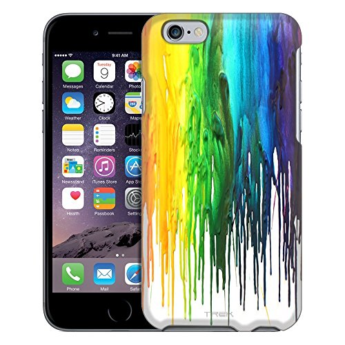 Apple iPhone 6 Case, Snap On Cover by Trek Melting Wax Case
