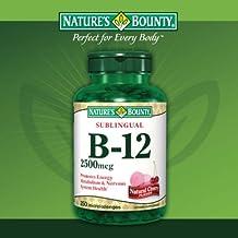 Fizaaro - Nature's Bounty B-12 Vitamins: 2500 mcg