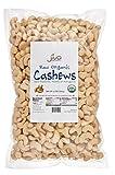 Jiva Organics Raw Organic Cashews (Whole) 2 Pound Bag