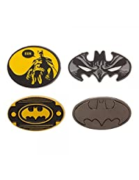 DC Comics Batman Logo Mask Lapel Pin Set