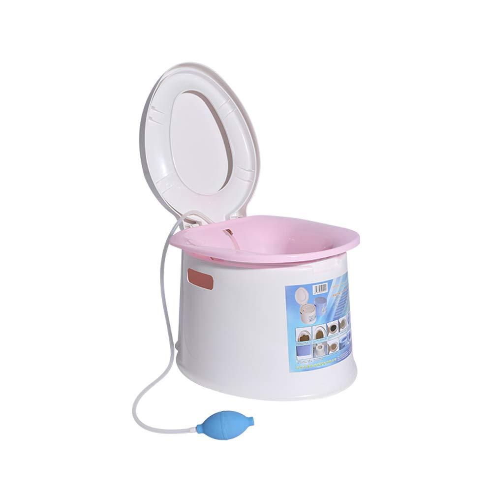 Tragbares Waschendes Hinternbassin, Das Schwangeren Frauen Freie Toilettenspülungstoilette Bewegliche Toilette Anbietet,ROT