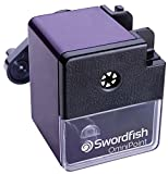 Swordfish 40305 OmniPoint Mechanical Versatile Manual Pencil Sharpener, 8-12 mm - Purple