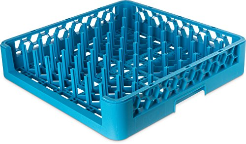Carlisle ROP14 OptiClean Open End Peg/Tray Rack, Blue (Pack of 6) by Carlisle