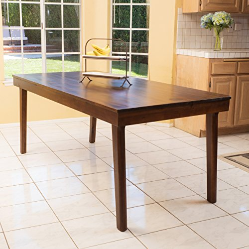 (Christopher Knight Home 296086 Greenway Dining Table, Rich Mahogany)
