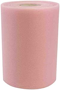 Rose Petal Pink Tulle Wedding Reception Decor - 6