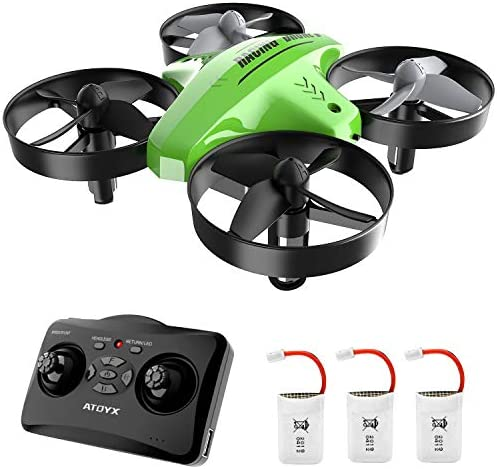 Drone for KidsMini Drone for BeginnersRemote Control Drone Quadcopter DroneAltitude Hold Function360°FlipsHeadless ModeBest Gift for Children.