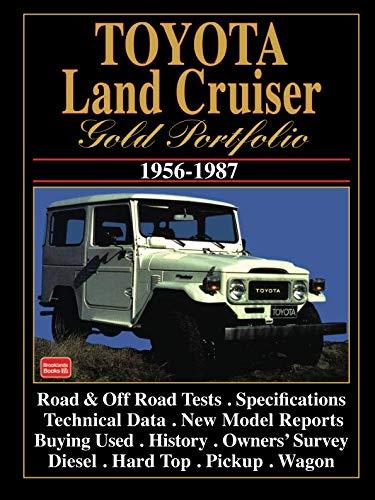TOYOTA LAND CRUISER GOLD PORTFOLIO 1956-1987
