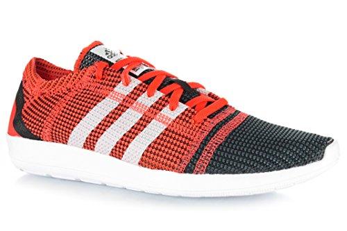 Adidas - zx flux m19840 - b44240-39 1/3 - 6.5 - rouge baskets mode homme
