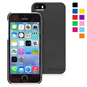 Snugg iPhone 5 / 5S Ultra Thin Case in Black Slim Profile Non Slip, Protective and Soft to touch for Apple iPhone 5 / 5S