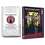 AtmosFearFX Tricks and Treats Halloween DVD and Reaper Brothers High Resolution Window Projection Screen