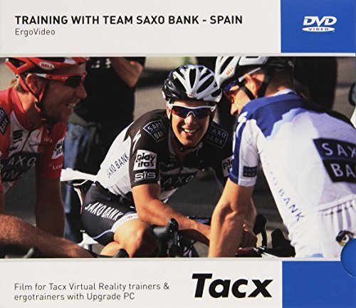 Tacx Films Real Life Video Training with The Pros Training with Team Saxo Bank by Tacx (Saxo Bank Team)