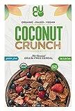NUCO Certified ORGANIC Paleo Gluten Free Coconut Crunch Cereal, 1 Box, 10.58 OZ