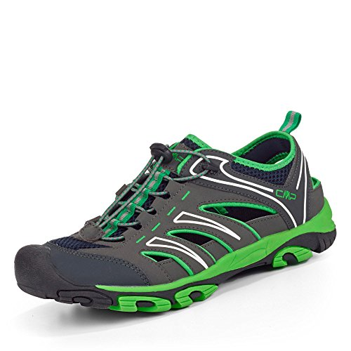 CMP - Zapatillas de senderismo de Material Sintético para hombre gris/verde