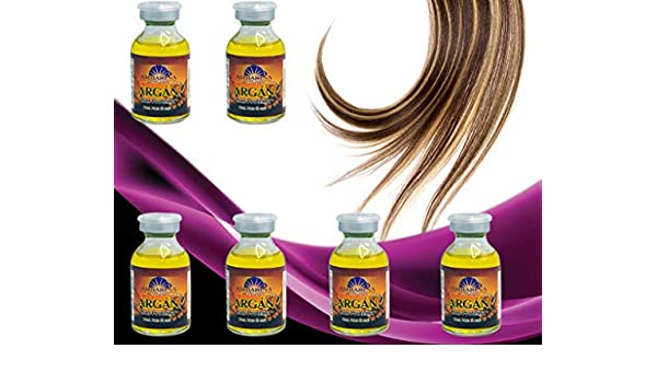 Amazon.com : Ampollas Capilares Ambarina, PRODUCTO ORIGINAL Argan Con Proteinas (6 unidades) Proteje Hidrata tu Cabello. Usa Seler From Miami Usa Envio ...