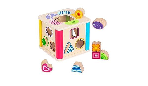 Bloques huecos de los niños Juguetes educativos educativos Cubos ...