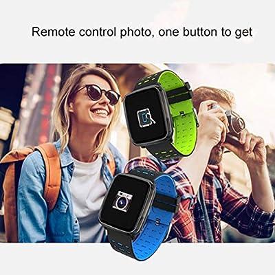 FAYY Smartwatch Bluetooth Tracker Relojes con Pantalla a Prueba de ...