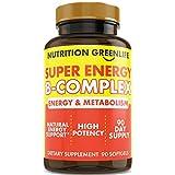 Super Energy Vitamin B Complex Bioactive Cold Fill Softgels for Max Potency & Absorption | Vitamins B1, B2, B3, B6, B12 plus Folic Acid, Zinc, Vitamin D | Energy, Fat Metabolism, Antioxidant 90ct For Sale