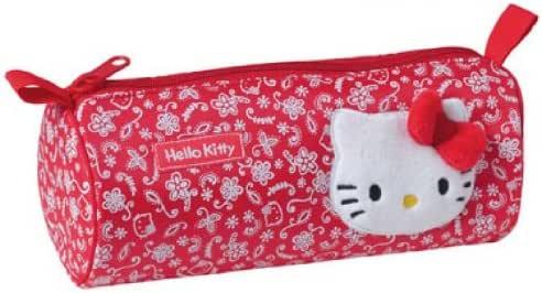 Hello Kitty Estuche de lápices Cara: Amazon.es: Juguetes y juegos