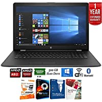 HP 17-ak010nr 17 AMD A9-9420 4GB RAM 500GB HDD Laptop (1KV44UA#ABA) + Elite Suite 17 Standard Software Bundle (Corel WordPerfect, PC Mover, PDF Fusion, X9) + 1 Year Extended Warranty
