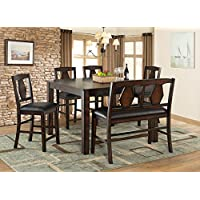 Vilo Home Tuscan Hills Diamond Back Pub Chair (Set of 2)