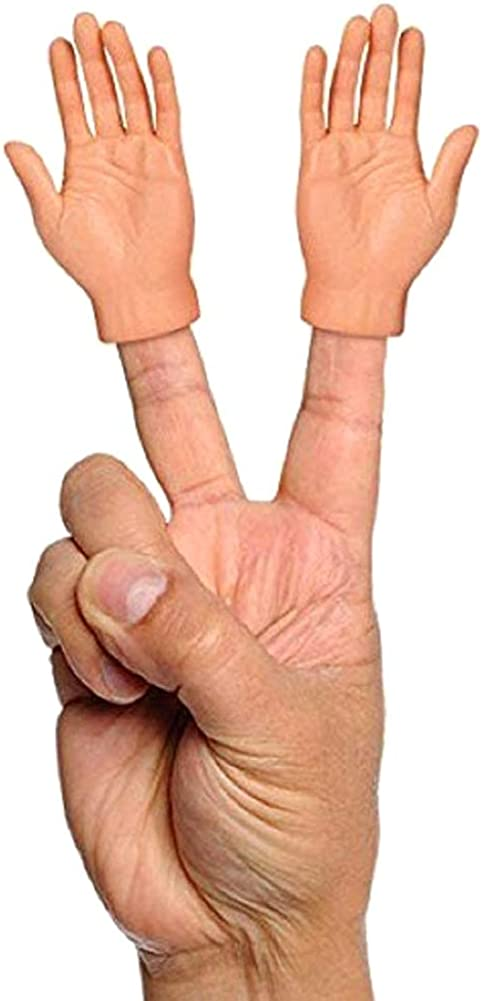 Jinghuash Finger Puppets,Esenciales de Halloween,Finger Hands,Set Of 2 Finger Hands,2PCS