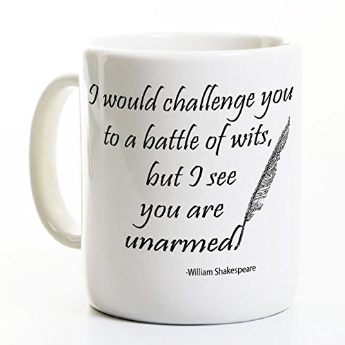 Shakespeare Coffee Mug Battle Lover product image