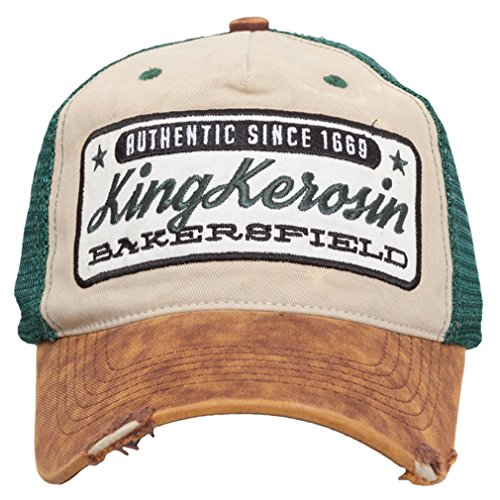 King Kerosin - Gorra de béisbol - para Hombre Talla única