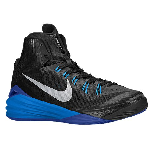 GAME ROYAL//METALLIC SILVER-BLUE HR Nike Mens Hyperdunk 2013 TB 13 M US