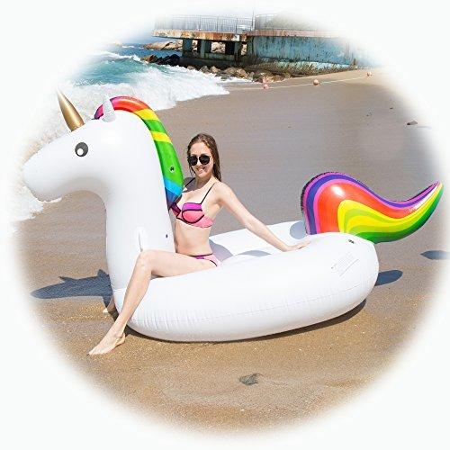 Giant Unicorn Inflatable Pool Floats Luxury Indoor And Outdo