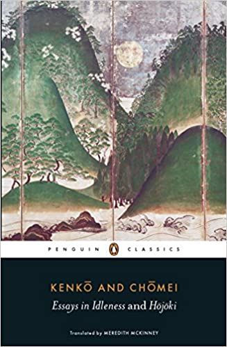 Amazon com essays in idleness and hojoki penguin classics