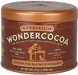 (US) Wonderslim Wondercocoa Powder, 6-Ounce Cans (Pack of 2)
