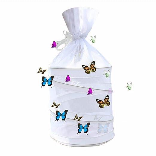 YakeHome Mini Caja De Cría De La Jaula De La Cría De La Mariposa De La