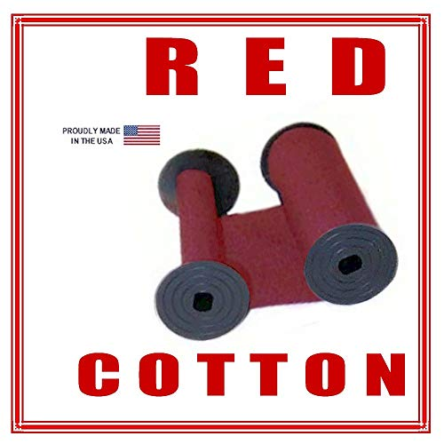 DBP Rapidprint A-RE, 5650 Time Stamp Ink Ribbon, RED Cotton. 1096-0222
