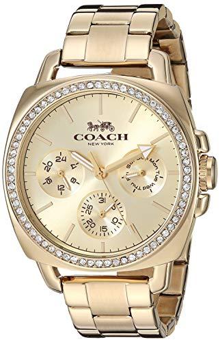 Coach Gold Watch - COACH Women's Boyfriend Gold One Size