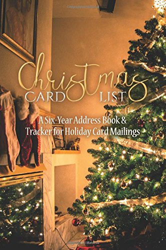 Christmas Card List Six Year Mailings product image