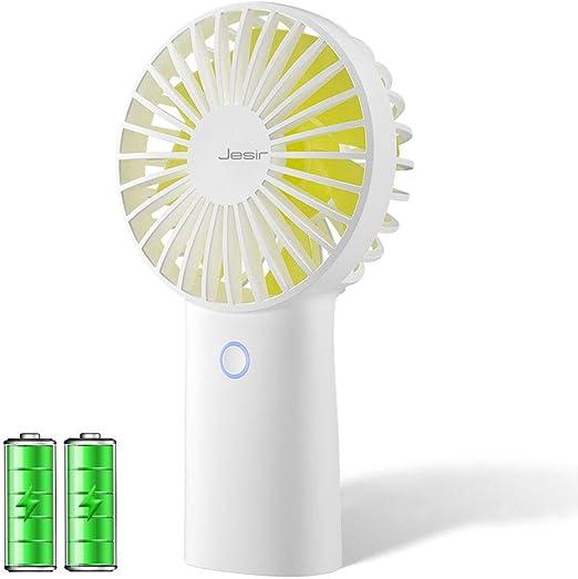 Mini Portable Cooling Fan Girl Handheld Fan Fashion Versatility Makeup Mirror Fan Compact USB Charging Mini Fresh Style Desktop Fan Color : Pink