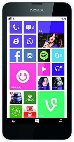 Nokia Lumia 635 Smartphone Mikro SIM (11,9 cm (4,6 Zoll) Zertifiziert und Generalüberholt)