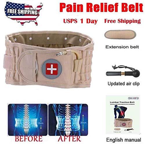 2018 Latest Dr Ho's Decompression Belt Back Brace Lumbar Support & Extender Belt