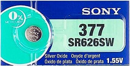 1 Pile Sony 377 Sr626sw