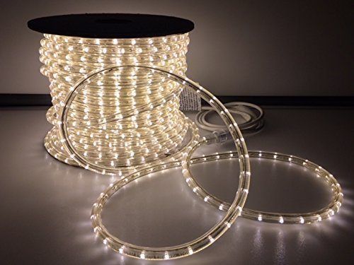 150' LED Rope Light Warm White & Cool White (Warm White) by LED Rope Light by katop