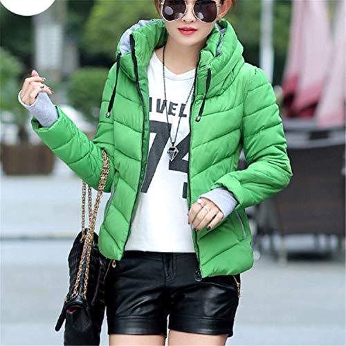 Fanessy Manteau Femme Doudoune Court Mode Chaud en Hiver Automne en Coton lgant Chic Parka Veste Nouvelle Style Slim Photo Couleur6