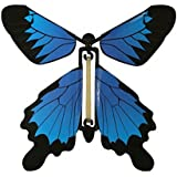 Insect Lore Rubber Band Powered Wind Up Butterfly Flying Toy